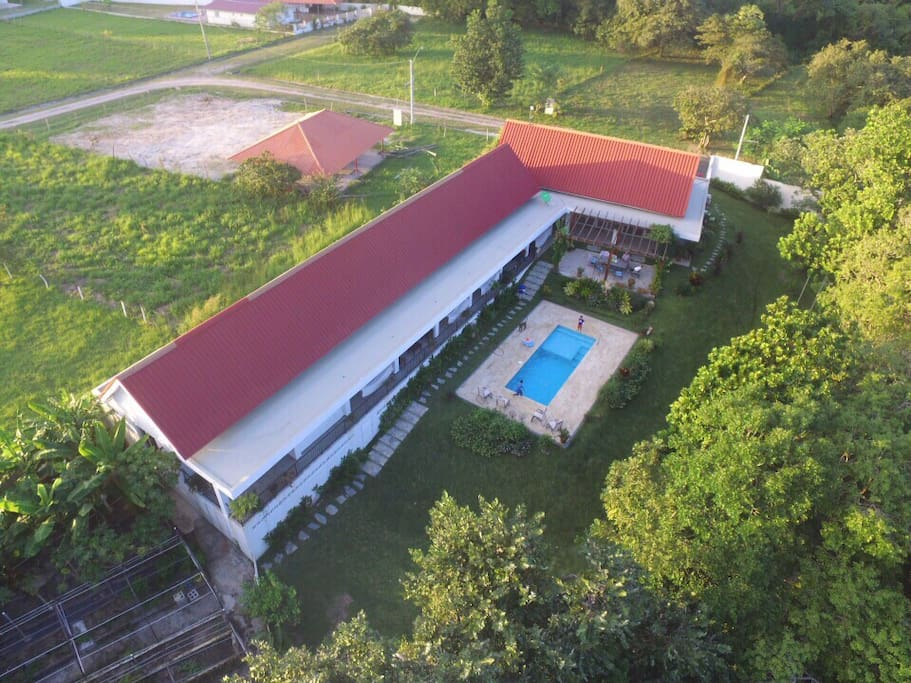 Aerial View of our 6 Bedroom Country Home in Rio Hato