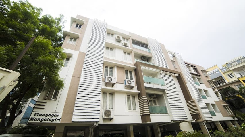 Apartment Front View