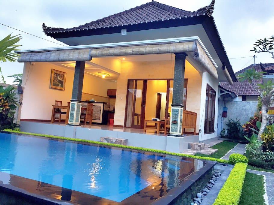 The villa property building