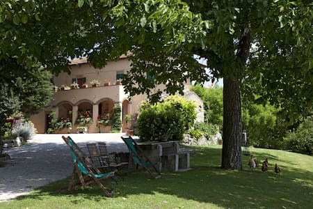Casa Amedea - 2/4 beds apartment in country Villa - Province of Siena - Huoneisto