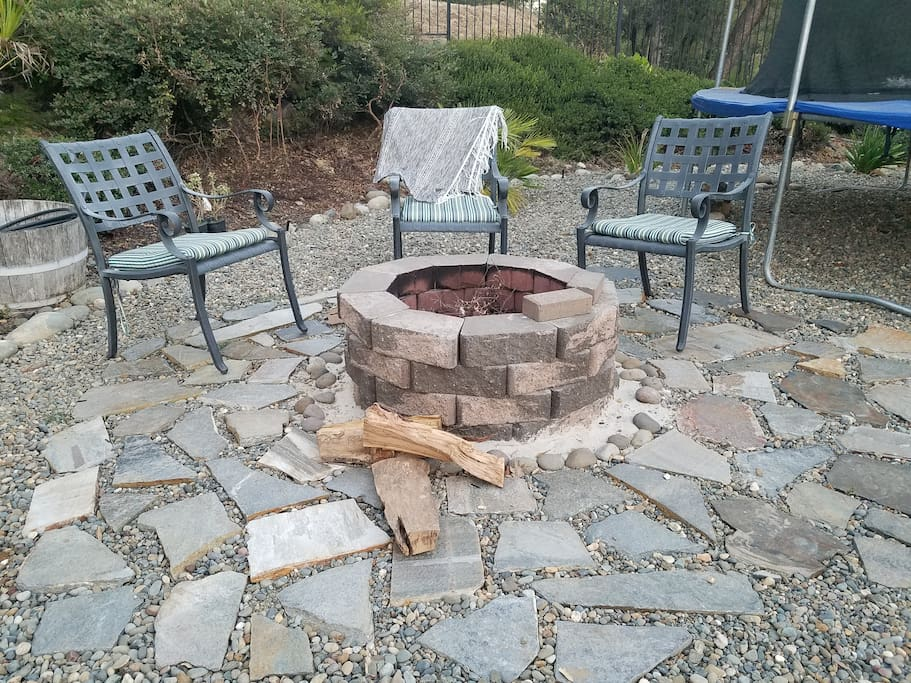 Fire pit to use