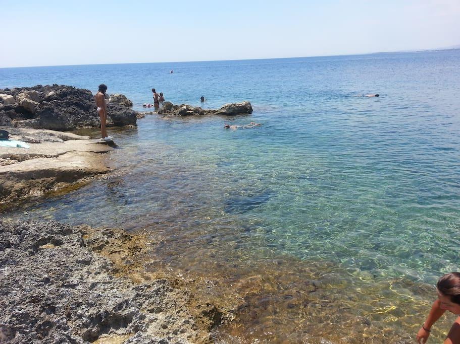Spiaggia a 250m dalla villa
