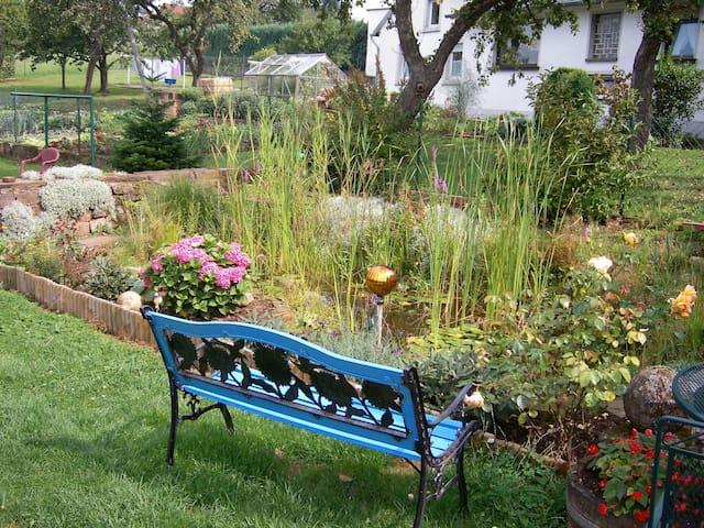 Sie sind herzlich eingeladen unseren Garten mit zu nutzen!