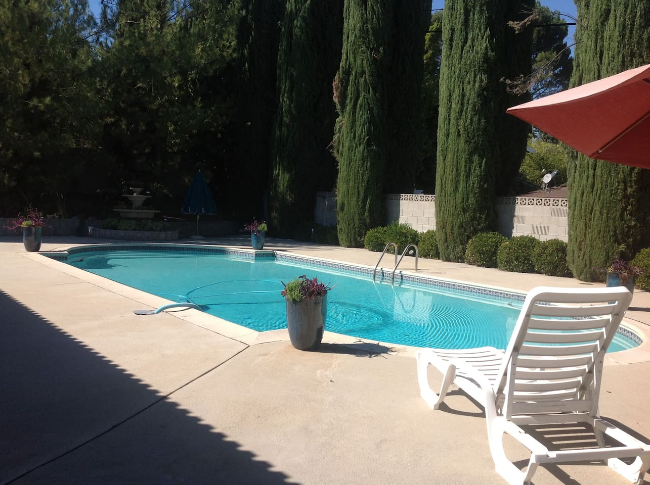 Refreshing pool awaits!