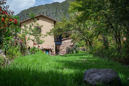 Rustic Ollantaytambo Inca Garden House - Ház