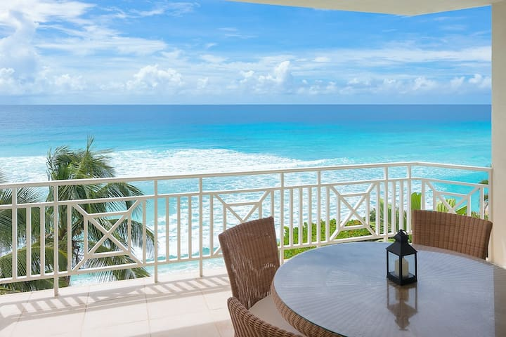 2 Bedroom Ocean front Condo in St. Lawrence Gap