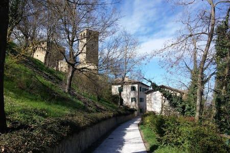 Castello di Sarzano: le colline matildiche. - Casina - Hostel