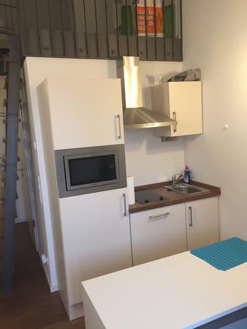 Stylishe Wohnung in Regensburg - Ratisbona - Apartamento