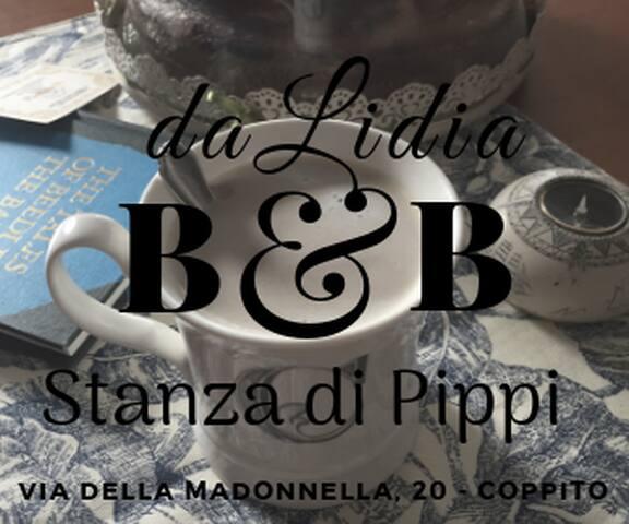 Stanza della Pippi, poetica e accogliente