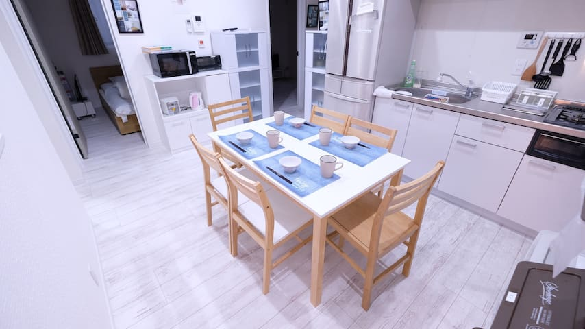 10 Bedroom House for 15 people, near station