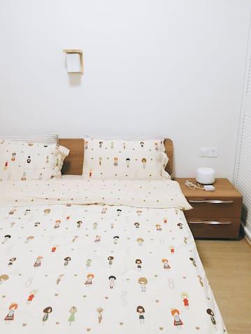 清新简单日式风格的小居室 - 湘潭 - Apartment