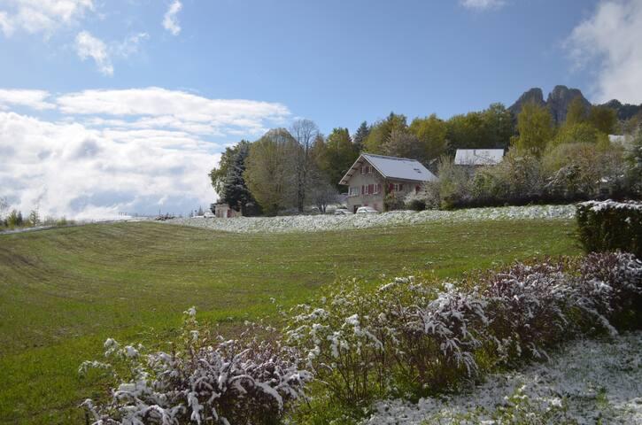 Beautiful house in the Alps - Saint-Nizier-du-Moucherotte - Дом