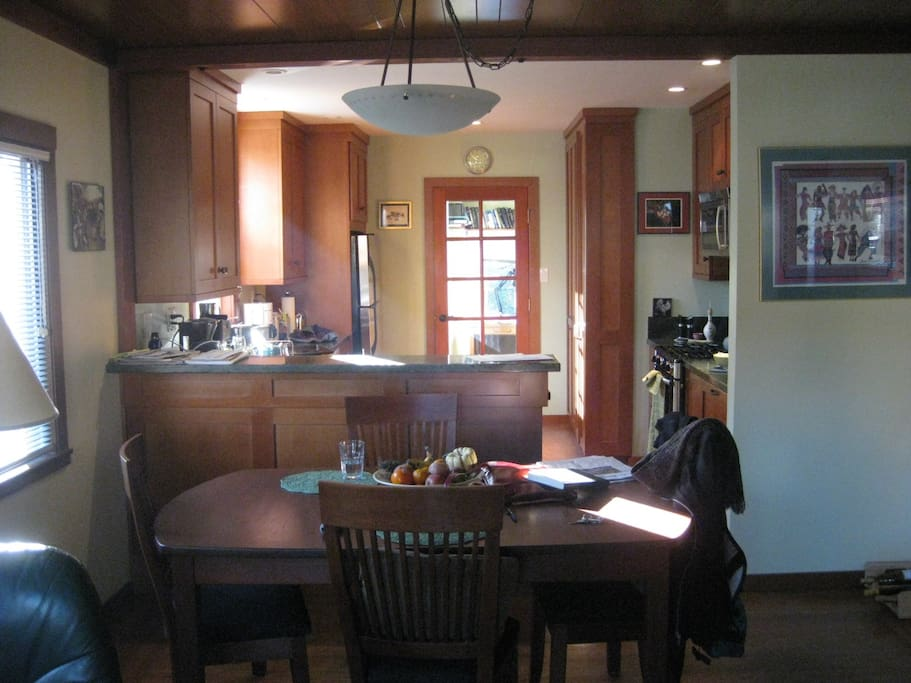 Open floor plan....Bright and sunny!