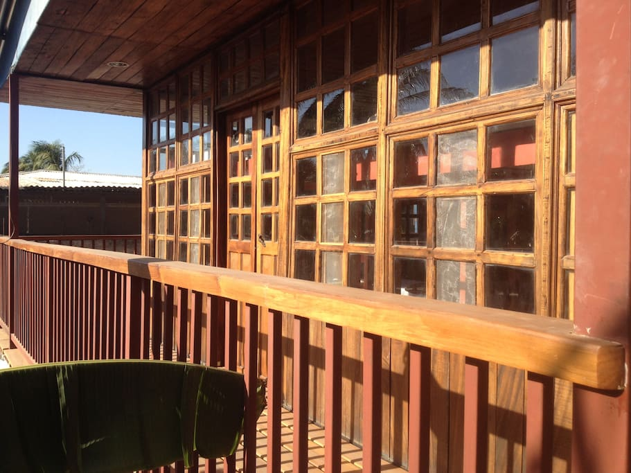 Our dorms feature an all wood theme.