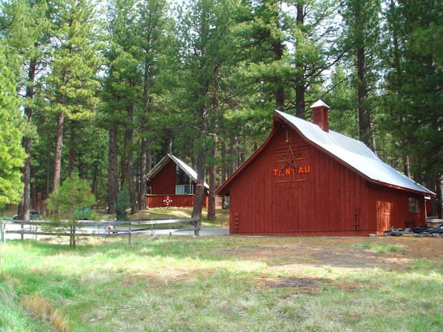 Mohawk Valley view ranch cabin (CA) - Clio - Бунгало