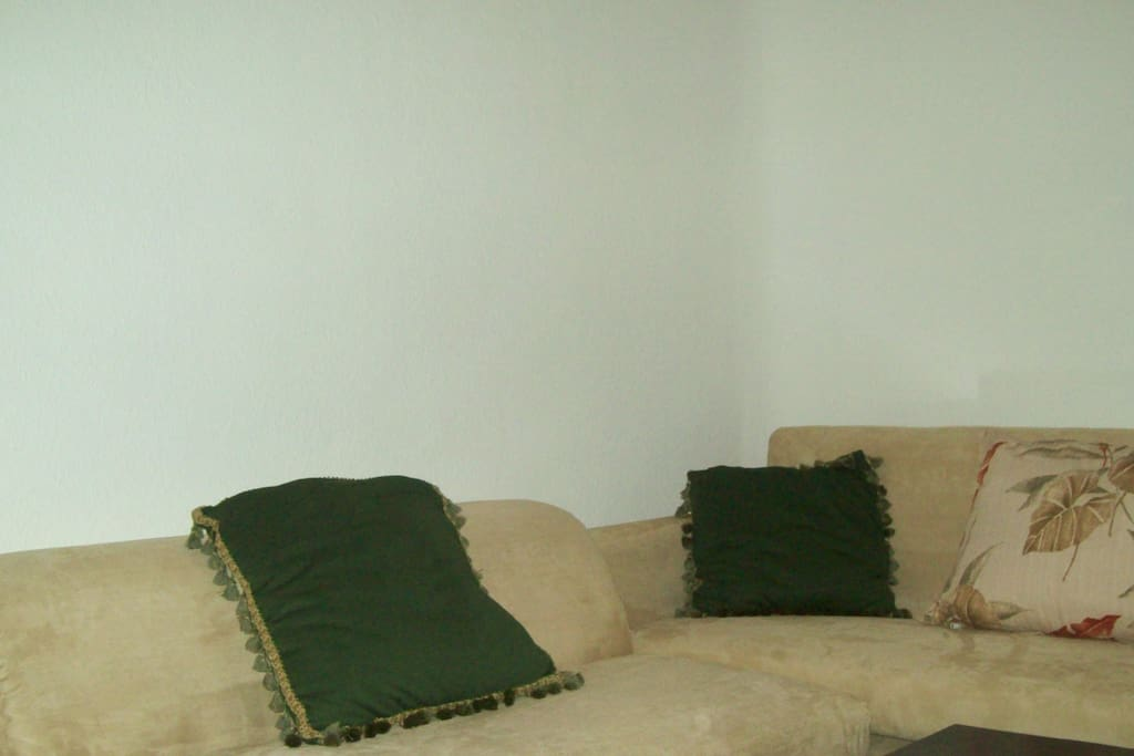 Living Room with Double Pull out Mattress