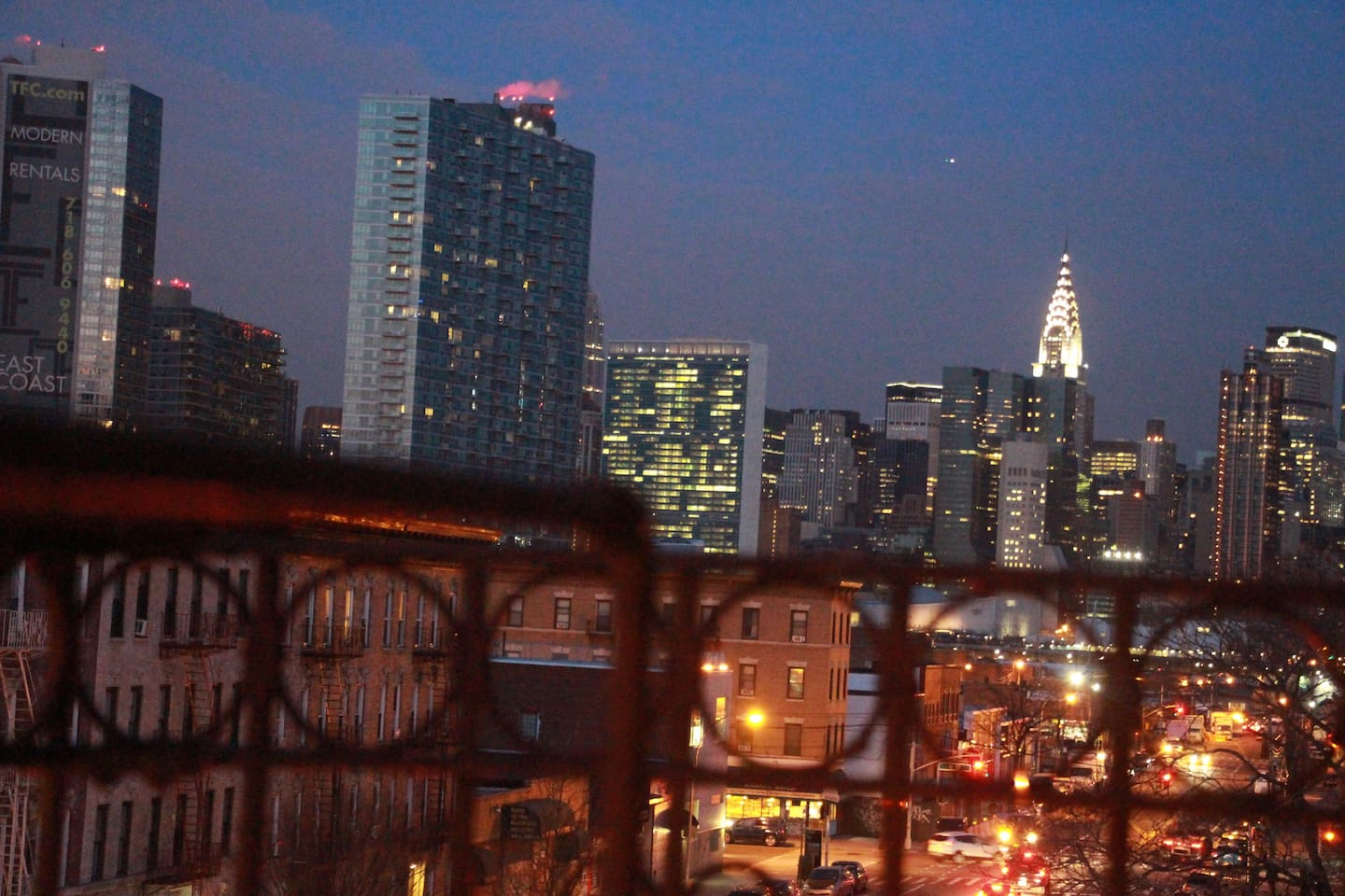 The best view of Manhattan is from Queens :)