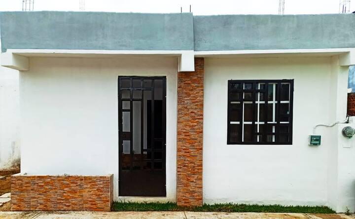 Casa sola para  8 personas ideal para ahorrar