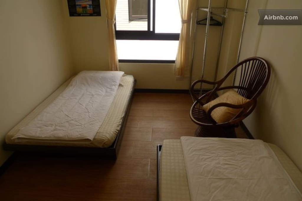 Room with twin beds-3F(三樓雅房)