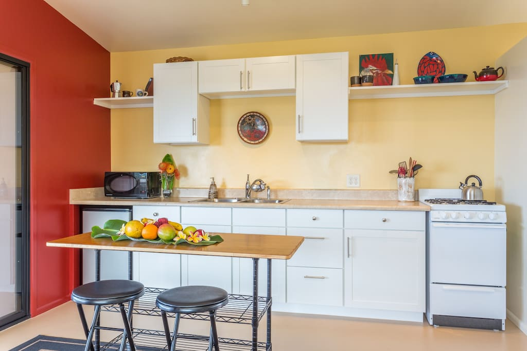 Everything you need Kitchen with gas stove