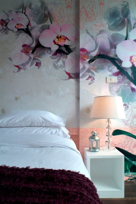 Bedroom - The Pink Room