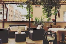 Veranda +relax corner
