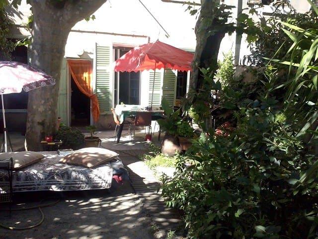 Loft d'artiste jardin, Cours Julien - Castellane - Marseille - Loft