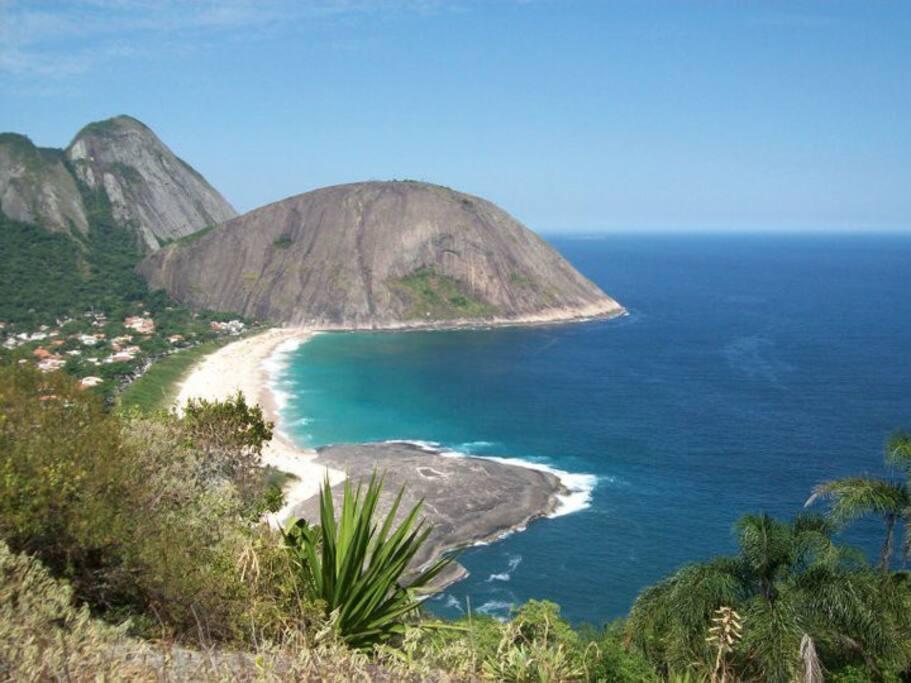 View of Itacoatiara from Morro das Andorinhas