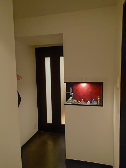 Entrance to the Living room