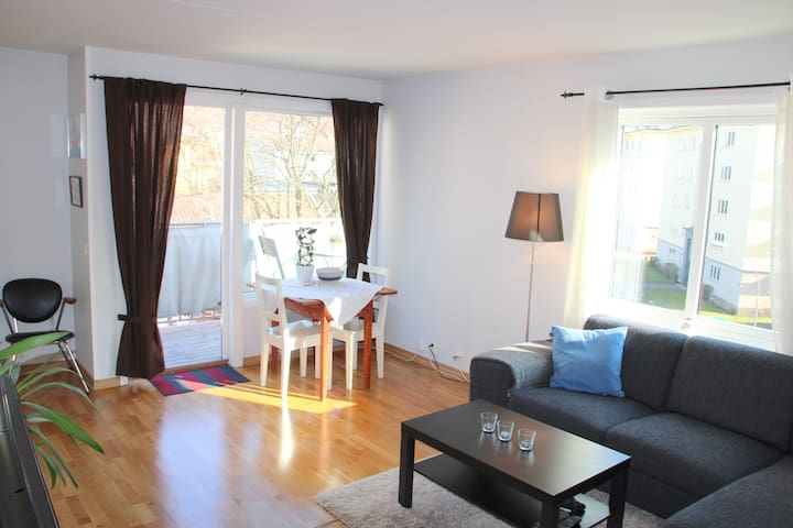 Cosy apt with balcony in Old Town - Oslo - Daire