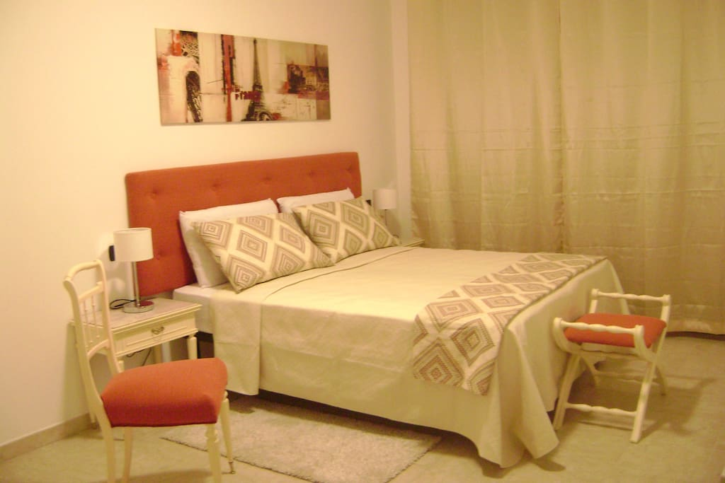 Scarlett Room in its double bed version
