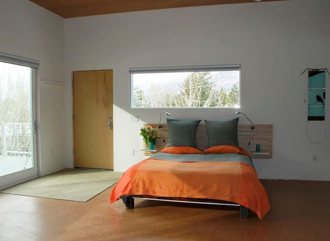 Gorgeous modern studio in town! Bus to ski-2 min! - Aspen - Apartment