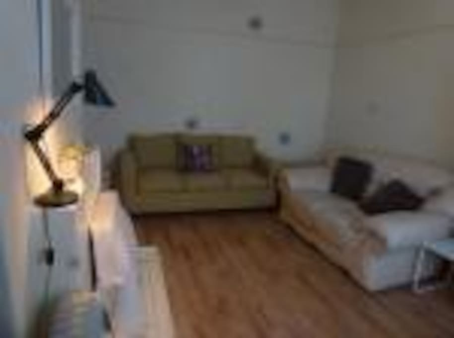 Sitting Room with a Large flat screen TV & WiFi