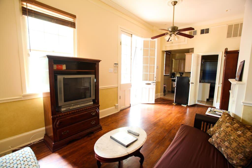 Authentic French Quarter Apartment