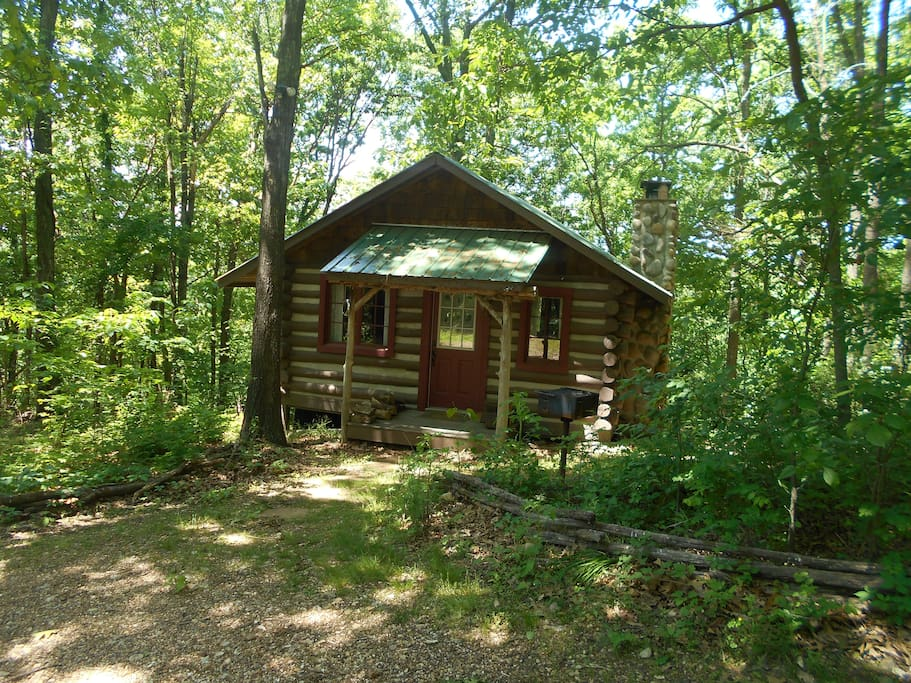 Pine log cabin cottages for rent in eureka springs Cabins eureka ca