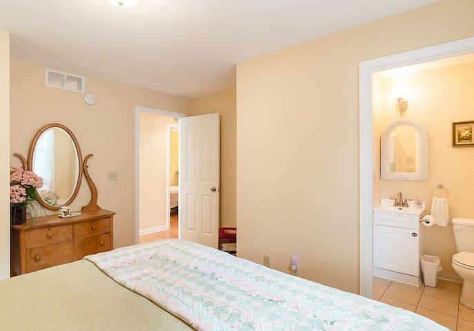 Master Bedroom w/View of En Suite Bathroom