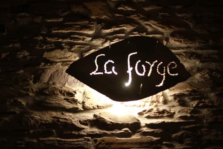 Gîte La Forge, ouvert en 2016.