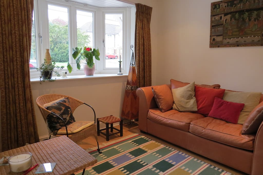 Use of sitting room, music and books