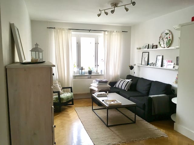Close to the city, great for couples/small family - Stockholm - Apartment