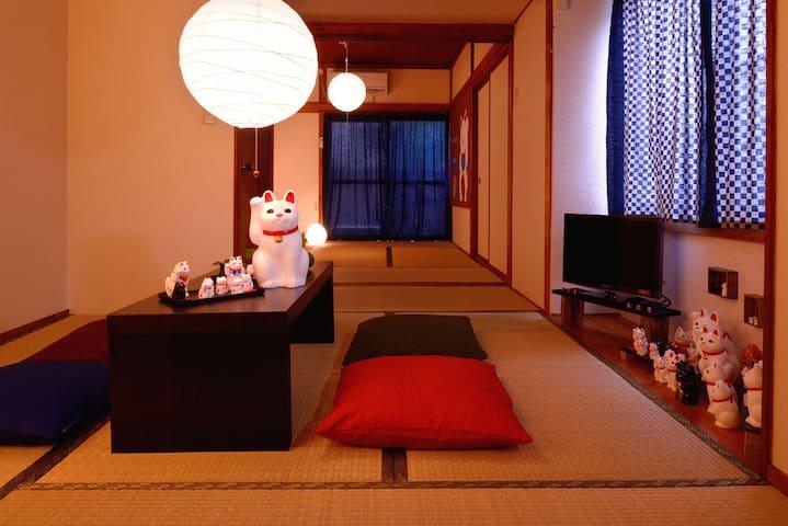 ★New open Tatami room★Near Ueno,Asakusa,Skytree! - Katsushika-ku - Byt
