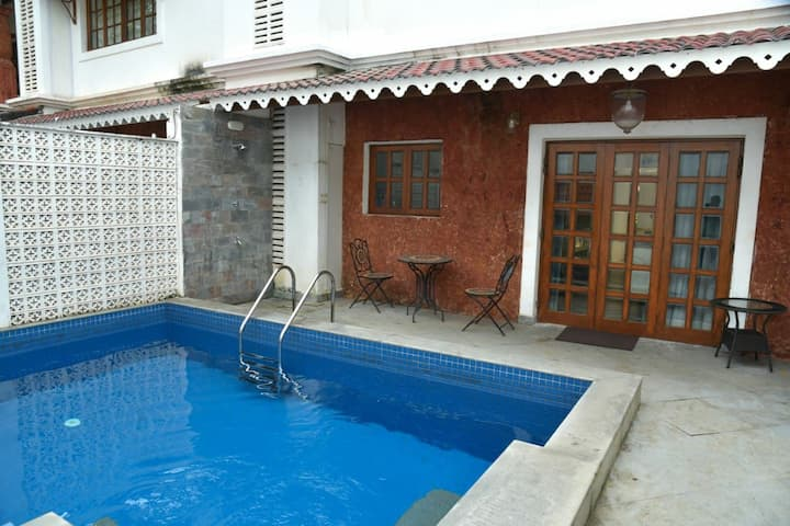 3BR villa with private pool|kitchen|cook|wifi|BBQ