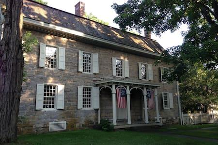 18th Century Colonial Stone House - Stone Ridge