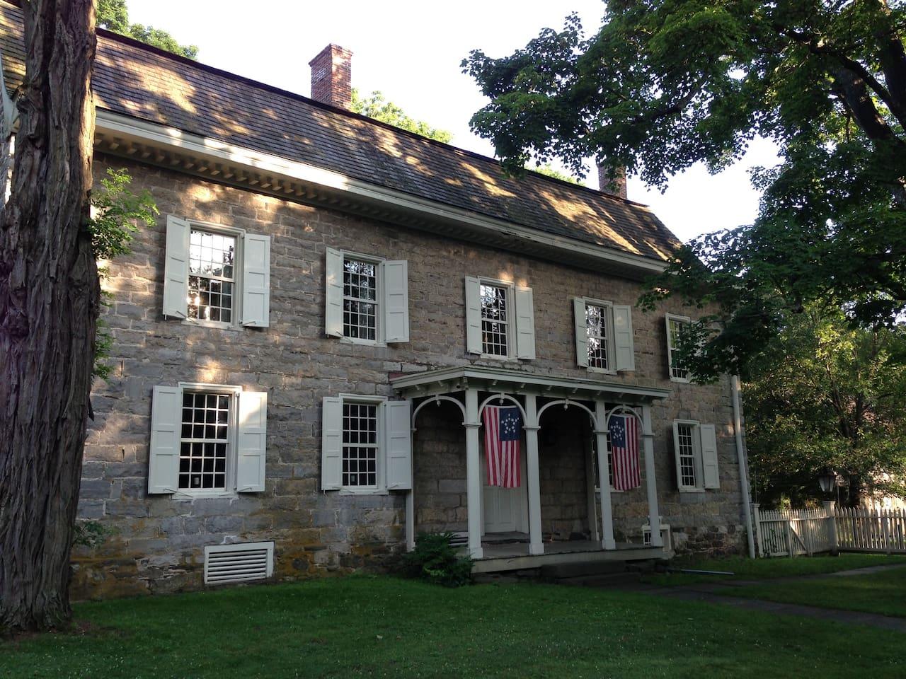 Wynkoop House,  Stone Ridge, NY