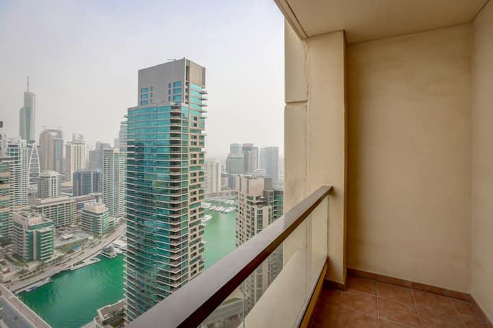 JBR Walk Stylish 2Bedroom at Bahar1 Marina View