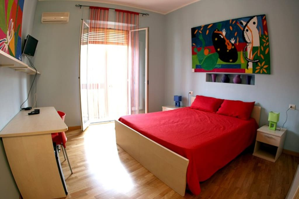 Bed and breakfast art rooms chambres d 39 h tes louer for Chambre d hote sardaigne