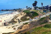 Law Street Beach 20 minute bike ride away!