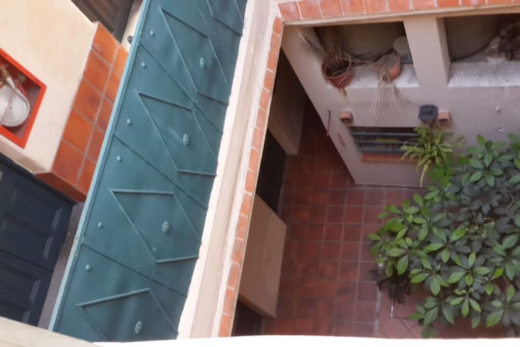 segundo patio visto desde la cocina