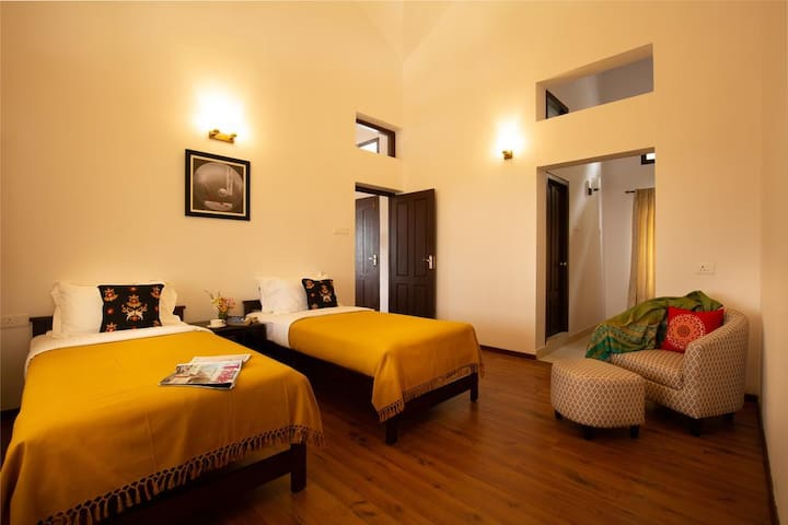 ✫ Charming twin room in a lovely 2 bedroom villa