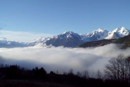 Maison d'alpage 800m piste st françois longchamps - Savoie - Maison