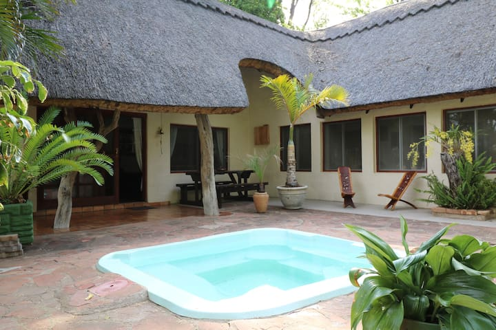 Njiri Lodge - the only place to wallow -